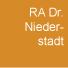 RA Dr. Niederstadt